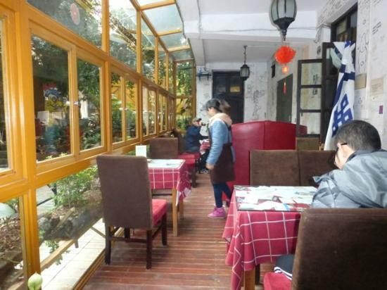 Kunming Cloudland Youth Hostel : Kunming Cloudland Hostel restaurant