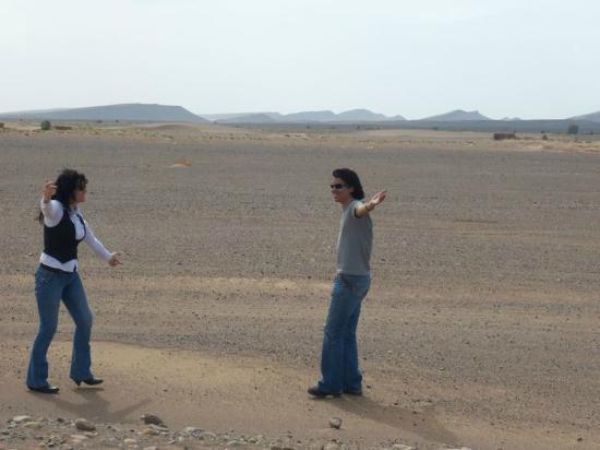 Erfoud, Marruecos: Desierto negro