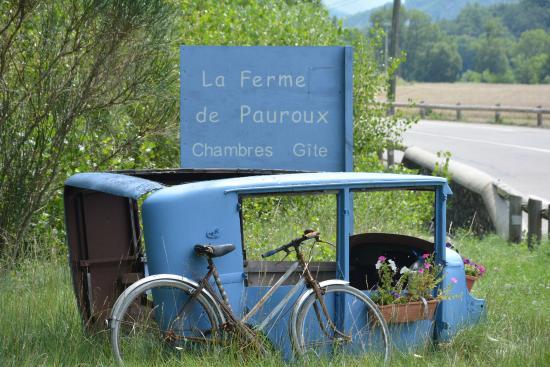 """Mornans, Francja: """"We zijn gearriveerd !"""""""
