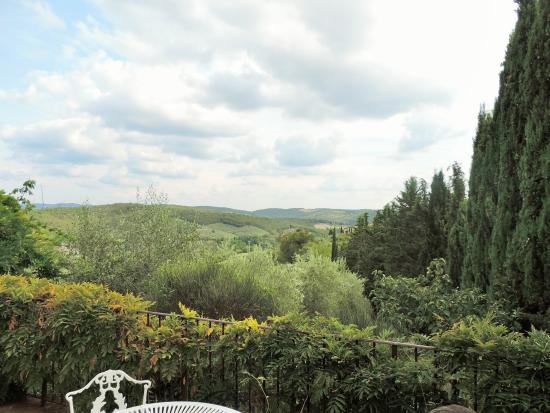 Relais Vignale: The view from our terrace