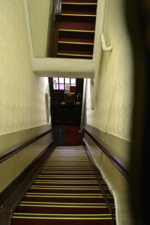 Hotel de Westertoren: Лестница