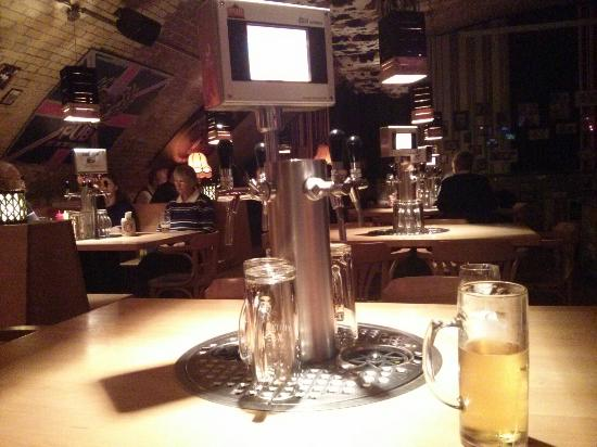 beer on draft at the table picture of the pub berlin tripadvisor rh tripadvisor ie