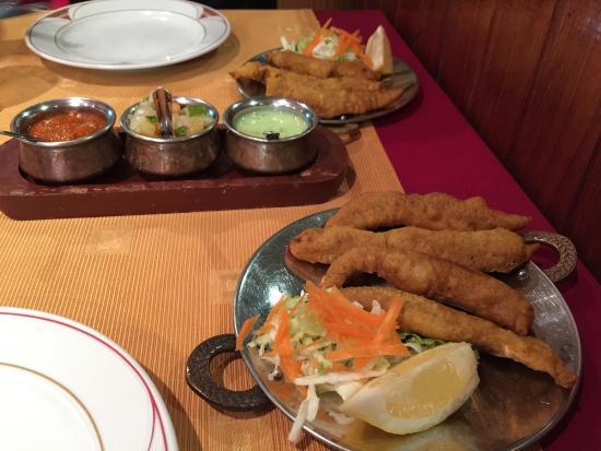 Restauranta Dayana : Chicken pacoras.