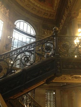Museo Nacional de Artes: Escaleras