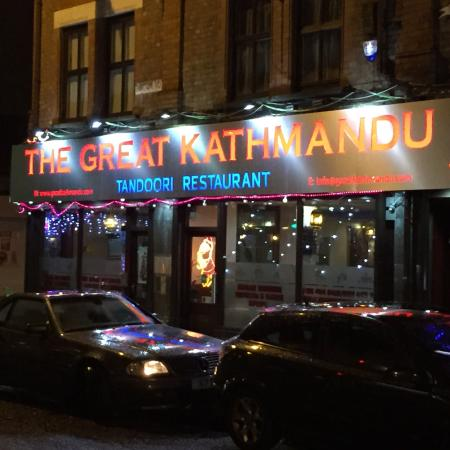 The Great Kathmandu: New sign