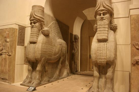 Mesopotamian Statues Of Winged Bulls Lamassu Picture Of Musee Du Louvre Paris Tripadvisor