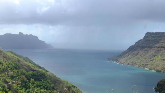 Another bay in Nuku Hiva