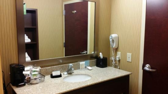 Hampton Inn & Suites Woodstock: Vanity area