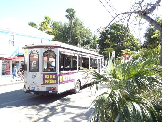 City View Trolley Tours Groupon Key West