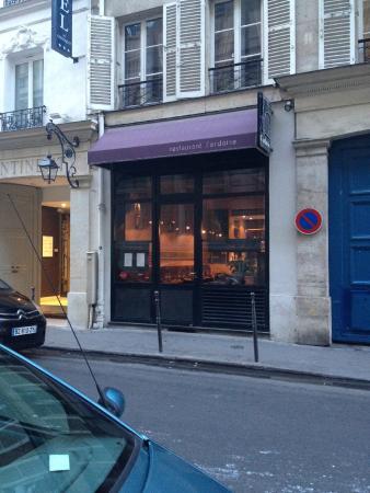 L'Ardoise : Exterior of the restaurant