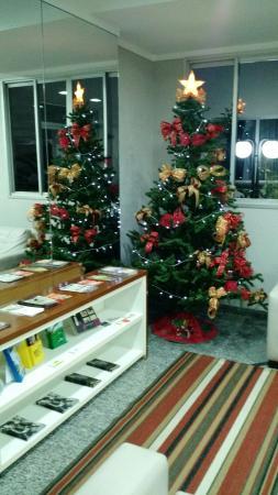 Hotel Riviera Aracatuba: Enfeitado para o Natal
