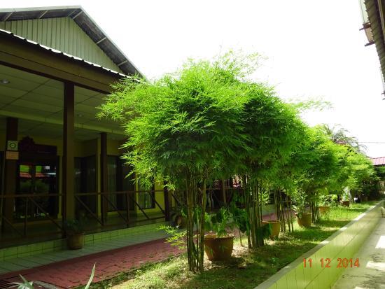 d'Village Resort: The side walk