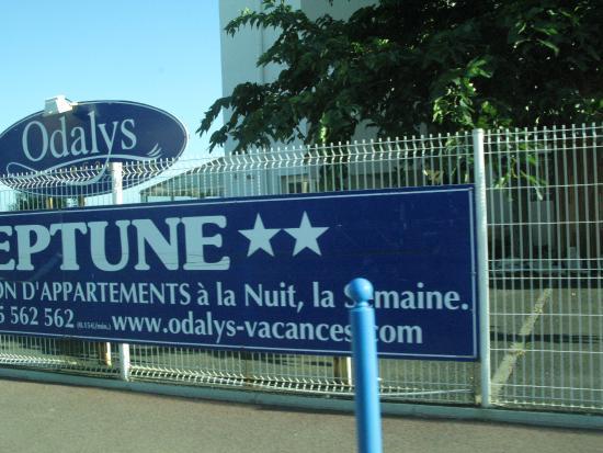 Hotel-Residence Odalys Le Neptune: Отель Нептун