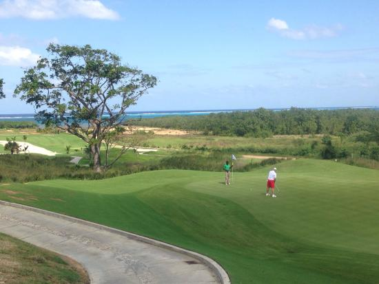 The Black Pearl Golf Course: What a view