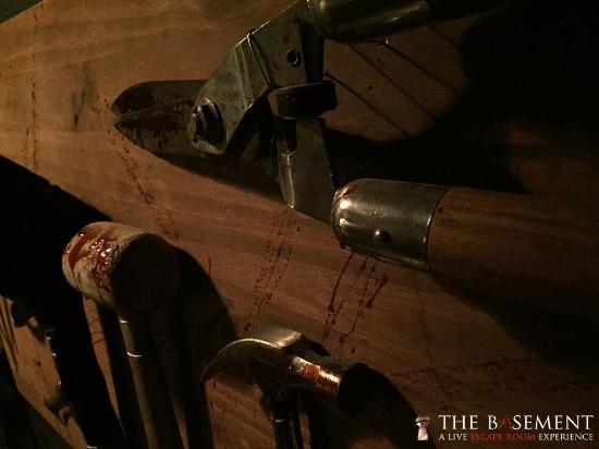 The Basement A Live Escape Room Experience Foto Di The