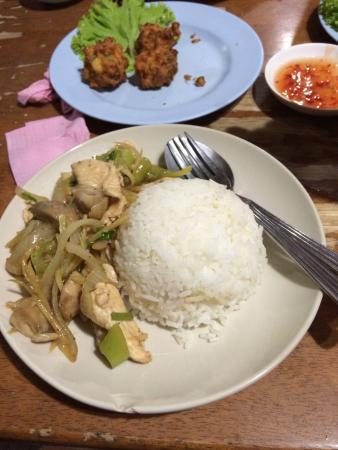 Tukta Thai Food: Poulet gingembre