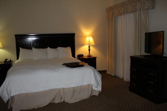 Hampton Inn & Suites Galveston : Plenty of room