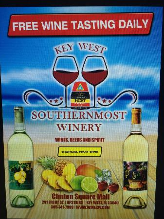 SOUTHERNMOST WINERY KEY WEST