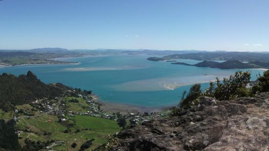 Mount Manaia Track: Whangarei Harbour and Parua Bay