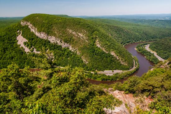 Warren, NJ: View from the Top of Mt Tammany