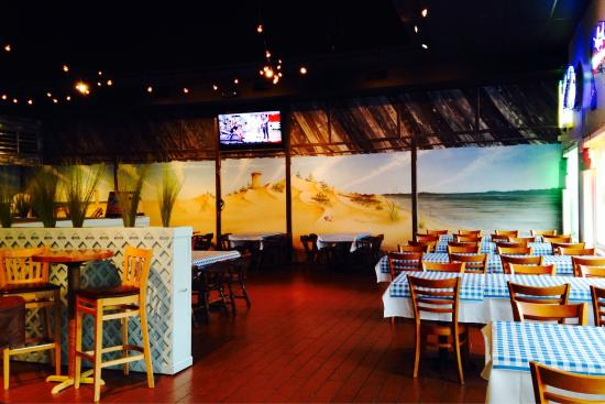 Whiskey Beach Restaurant : View from entrance
