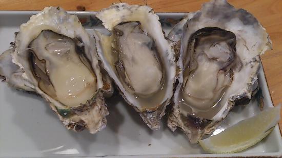 Matsushimasushiko: 焼牡蠣 900円