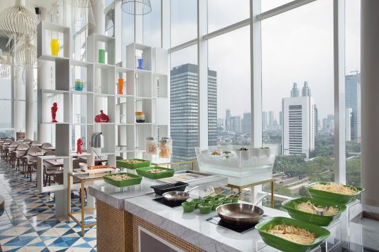 skyloft indoor 5 picture of skyloft restaurant lounge jakarta rh tripadvisor com