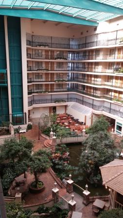 Embassy Suites by Hilton Anaheim North : 2nd and 7th floor closed off for renovations while we were there