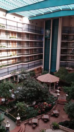 Embassy Suites by Hilton Anaheim North : Elevators on that side of hotel CLOSED - to be used by maintenance crew only