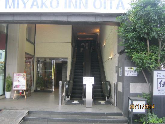 Green Rich Hotel Oita Miyakomachi : 外環は地味ですが内部はすばらしいです。