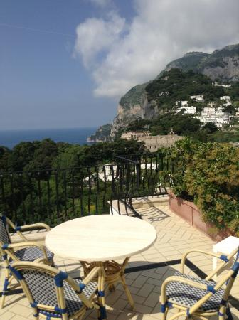 La Scalinatella: Room with a view