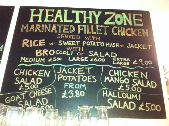 Green Chair: Healthy Zone