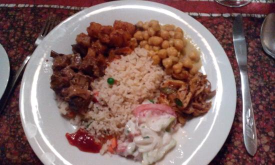 Hantana Range View: delicious sri lankan dinner