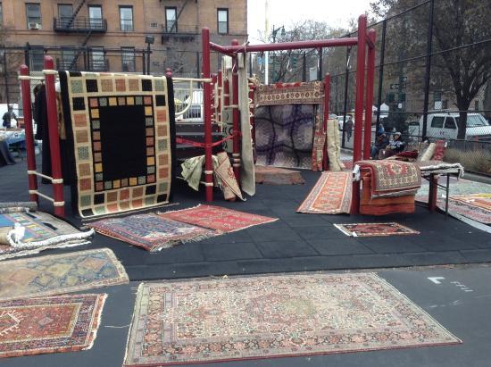 Greenflea Flea Market: new use for kid's playground