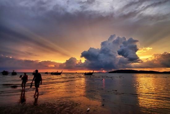 Ao Nang, Thaïlande : Awesome Sunset