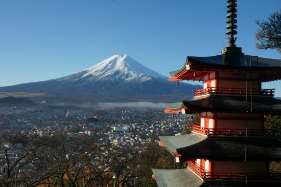 Fujikawaguchiko-machi, Japan: the-postcard-like Fujisan photo
