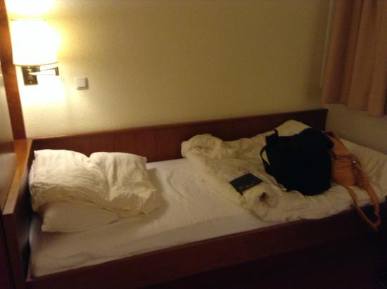 Hotel am Marschiertor: Bed was comfortable