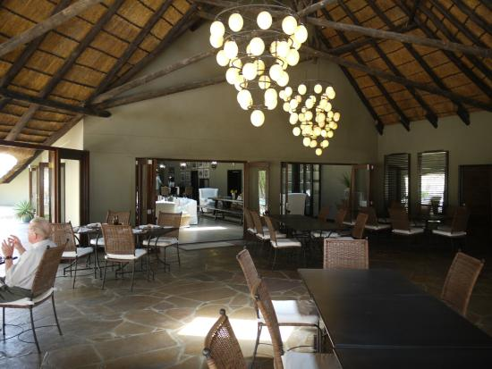 The ostrich egg chandeliers picture of mushara lodge etosha mushara lodge the ostrich egg chandeliers aloadofball Choice Image