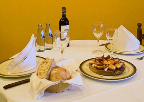 Restaurante la finca en santiago de compostela con cocina for Cocinas santiago de compostela