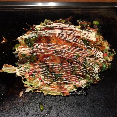 Tsuruhashi Okonomiyaki Omoni