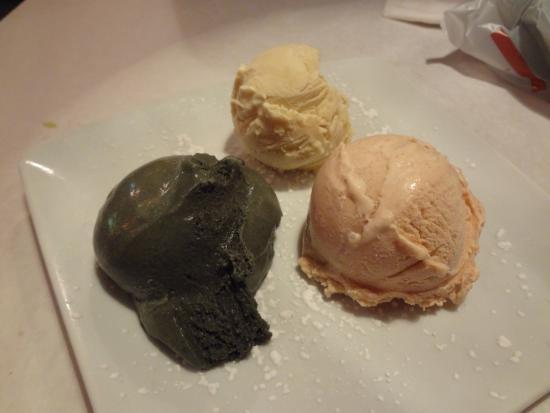 Otto Tomotto's: Homemade Ice Cream (Black Cherry, Vanilla, Cinnamon)