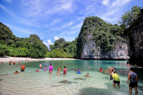 Krabi (provins), Thailand: Beautiful lagoon