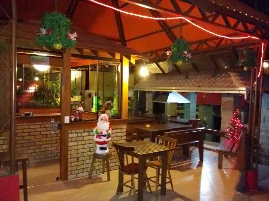 Vila Taquaras: Natal na pousada....