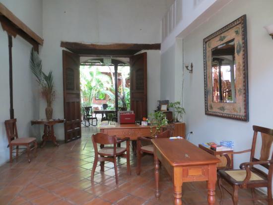Hotel Casa Antigua: Entrada/Recepcion