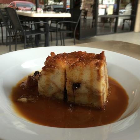 Blueberry Bread Pudding with House Made Caramel Sauce - Picture of ...