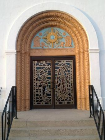 Beautiful Front Doors beautiful front doors - picture of infant jesus catholic church