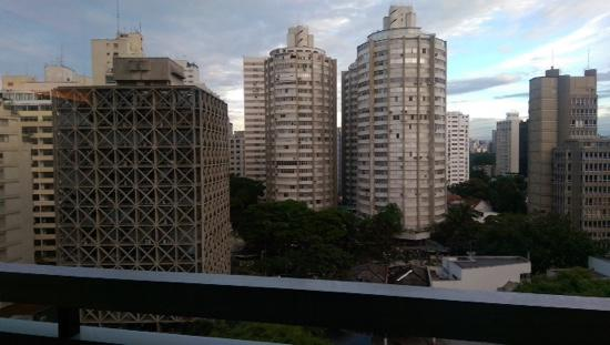 Radisson Blu Sao Paulo: the depressing view from my room.....