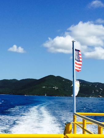 Virgin Islands Ferry - Red Hook: Taking the ferry home