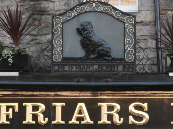 Greyfriars Bobby's Bar.