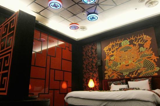 Sato Castle Motel: 霸王别姬 deco